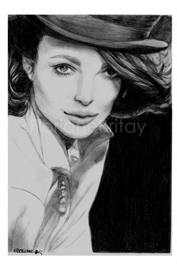 Keira Knightley by FloBrit